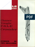 [Aircraft Profile 090] - Chance-Vought F8 a-E Crusader