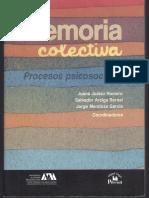 Memoria Colectiva, Procesos Psicosociales-Libro