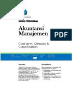 Modul Akuntansi Manajemen [TM2]