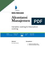 Modul Akuntansi Manajemen [TM6]
