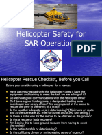 Helicopter Safety for SAR Operation