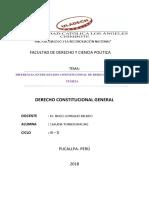 Estado Constitucional de Derecho y Estado de Fuerza CLAUDIA
