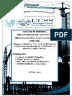 Investigación y Proyecto de Ayuda Social en La Institución Educativa