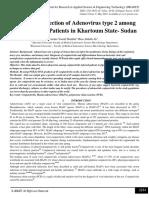 Molecular Detection of Adenovirus type 2 among Conjunctivitis Patients in Khartoum State- Sudan