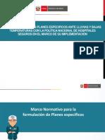 1. Articulación de Planes Especificos Con Acciones Redución