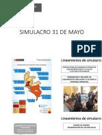 Simulacro 31 Mayo Salud Ptos Clave