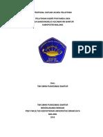 Proposal Satuan Acara Pelatihan Kel 2