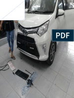 Pemasangan Lampu DLR (Day Light Running) Mobil Toyota Calya