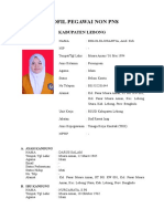 Profil Pegawai Non Pns