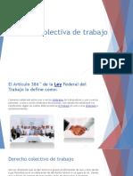 Expo Relacion Colectiva de Trabajo