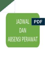 Cover Jadwal
