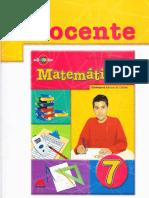 Libro de Matemática 7