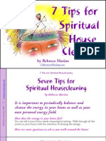 7 Tips for Spiritual Housecleaning