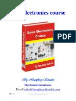 Basic Electronics Course Humphrey Kimathi