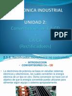 2.1 Convertidores CA CD