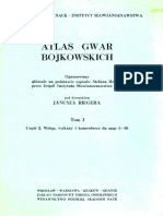 Atlas Gwar Bojkowskich Tom1 2