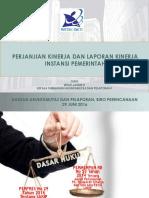 PK Dan Laporan Kinerja Sosialisasi Untidar