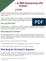 Cubase PDF