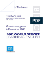 0453823 2DFD5 Greenhouse Gasses Teacher s Pack Bbc Learning English 06 12