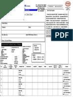 Transformer Oil Sample Data Sheet-F4-ToDS-Rev01 02012015