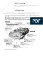 Automobile Materials and Manufacture