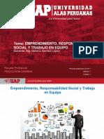 Semana 2 - Emprendimiento, Responsabilidad Social y Trabajo en Equipo