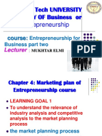 Chapter 4 Marketing Plan