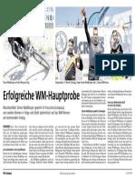 Botschaft 4. Juli 2018 - VC Leibstadt - Erfolgreiche WM Hauptprobe