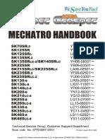 SK70SR-2~ SK480LC-8 MECHATRO HANDBOOK