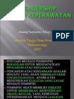 Kepemimpinan Dalam Manajemen S1 2017 Ujian