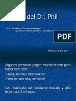 Test Del Dr Phil