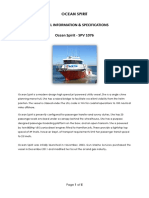 Ocean Spirit - Vessel Specifications Rev4 2013 02 19