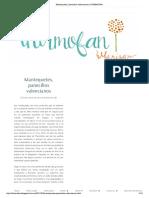 Mantequetes, Panecillos Valencianos _ THERMOFAN