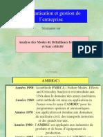 AMDEC Et Gestion Des Co Ts