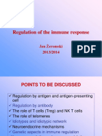 Regulation of Immune Response