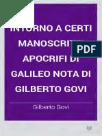 Govi--Intorno a Certi Manoscritti Apocrifi Di Galileo-2