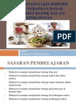 Menilai Status Gizi Individu Dan Menerapkan Dasar-dasar Diet