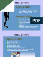 03-11-29 Fatiga y Sueño - P. Garcés