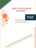 Versol'educazione inclusiva