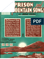 Prison and Mountain Songs  / folk