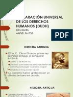Declaración Universal de Los Derechos Humanos Dudh