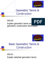 Unit D Geometric Construction Powerpoint