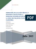 Informe 3era Unidad Irrigacion y Drenaje 2015