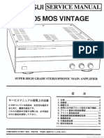 Sansui B-2105 Service Jp