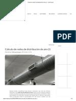 Cálculo de Redes de Distribución de Aire (I) - CoolProyect