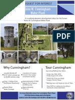 Cunningham Water Plant flyer