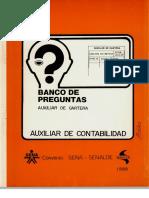 Banco de Preguntas Cartera SENA 1989