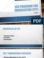Expanded Program for Immunization (EPI)