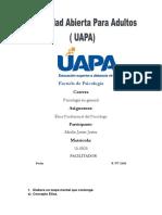 Etica Profersional Del Psicologo Merlin Jj UAPA