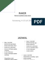 RAKER 2018-2019